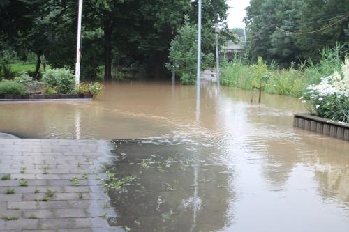 Hochwasser im Juli